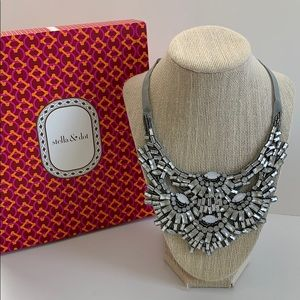 Stella & Dot Gala Bib Necklace